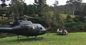 Heli-picnic